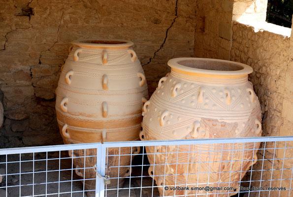 [NU905-2011-183] Cnossos (Crète) : Pithoi (grandes jarres)