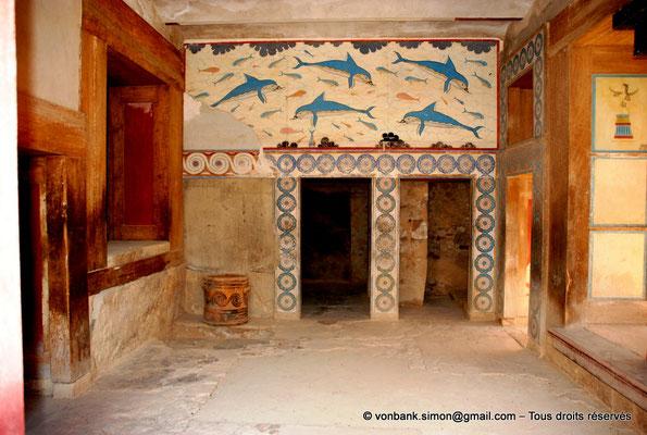 [NU905-2011-179] Cnossos (Crète) : Appartements de la reine : Mégaron (pièce principale)