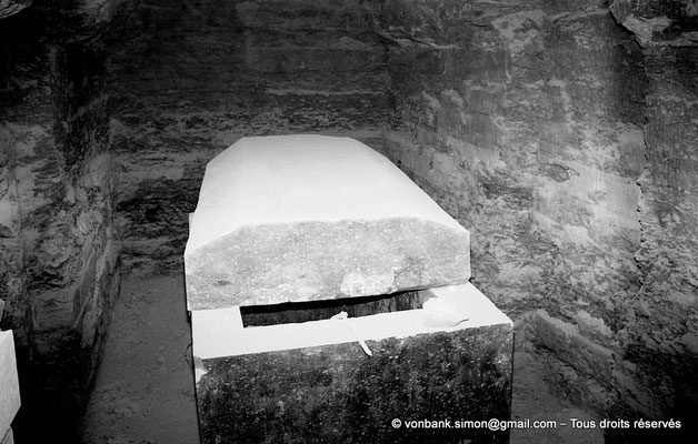 [NB085-1981-59] Saqqara - Serapeum : Cuve et son couvercle