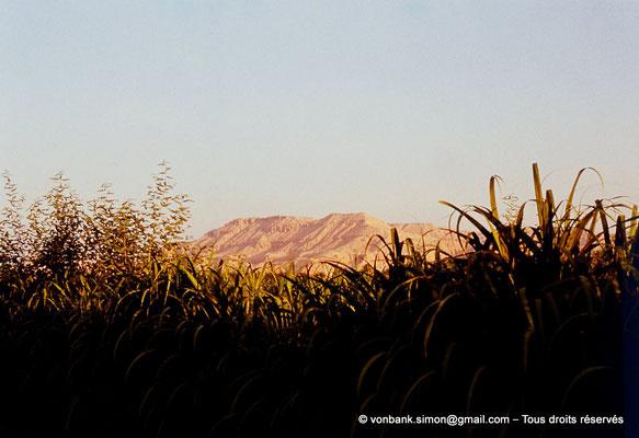 [083-1973-28] Louxor : La Cime se trouve sur la rive occidentale du Nil - Culminant à 420 mètres d'altitude, elle constitue un des sommets de la chaîne Libyque