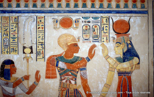 [064-1981-17] QV 55 Amonherkhépshef : Amonherkhépshef - Ramsès III - Isis