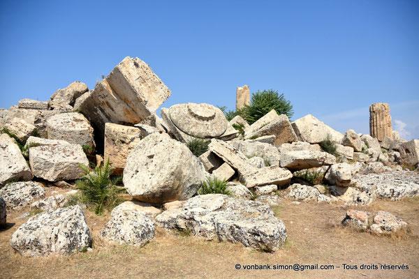 [NU906-2019-1446] Sélinonte - Temple G : Ruines