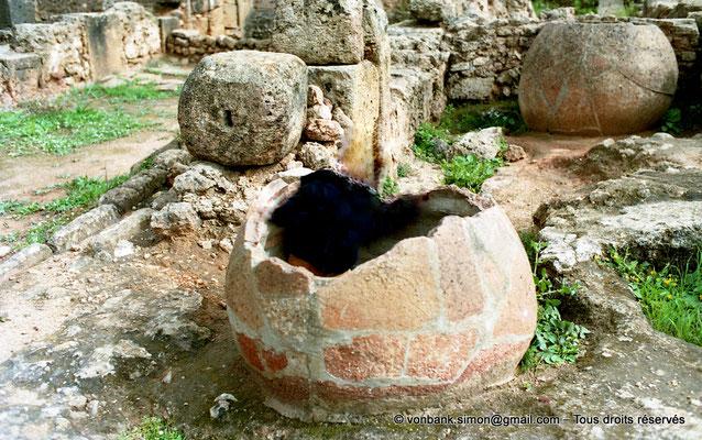 [C002-1990-04a] Tipasa de Maurétanie : Dolia (Fabrique de garum)