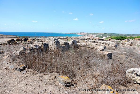 [NU904-2015-207] Tharros (Sardaigne) : Ruines (colline Su Muru Mannu)