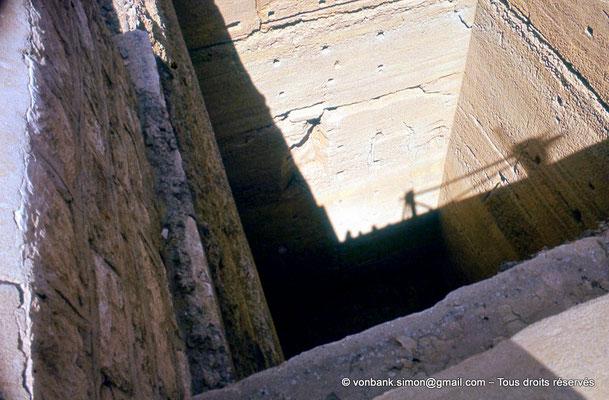 [087-1973-14] Saqqara - Djoser : Puits