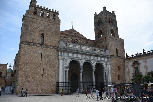 [NU906-2019-1689] Santa Maria Nuova (Monreale) : Façade occidentale