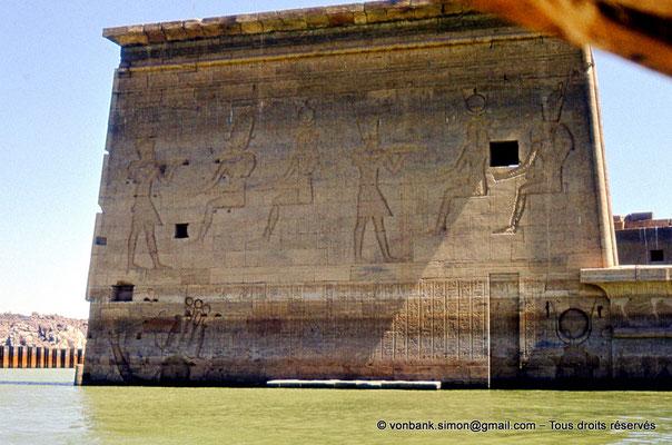 [080-1973-05] Philae : Temple d'Isis - Pylône 1