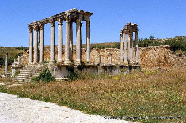 [009-1985-25] Dougga (Thugga) : Temple de Junon Cælestis