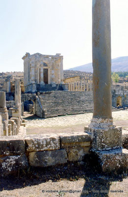 [001-1983-06] Djemila (Cuicul) : Temple Septimien