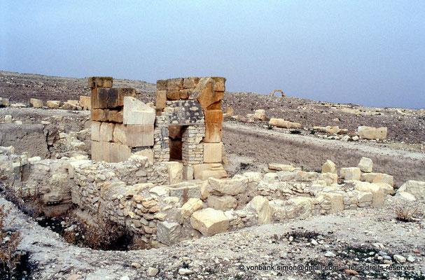 [003-1983-14] Zanfour (Assuras) : Mausolée (en cours de restauration)