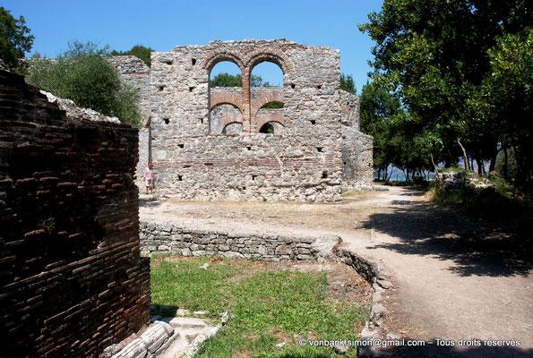 [NU902-2010-127] Butrint (Buthrotum) : Basilique chrétienne reconstruite à l'époque vénitienne