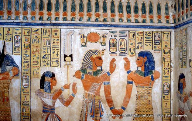 [064-1981-16] QV 55 Amonherkhépshef : Amonherkhépshef - Ramsès III - Amset