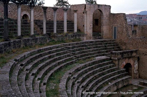 [018-1978-19] Guelma (Calama) : Théâtre - Gradins
