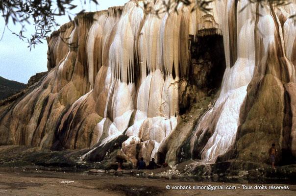 [018-1978-36] Hammam Meskoutine (Aquae Thibilitanae) : Cascade pétrifiée
