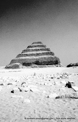 [084-1973-04] Saqqara - Djoser : Pyramide à degrés du roi