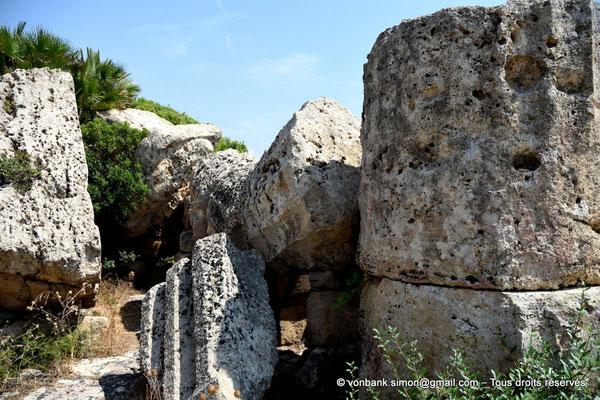 [NU906-2019-1494] Sélinonte - Temple D : Ruines