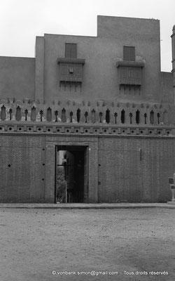 [NB073-1973-45] Le Caire - Mosquée Ibn Toulon : Accès