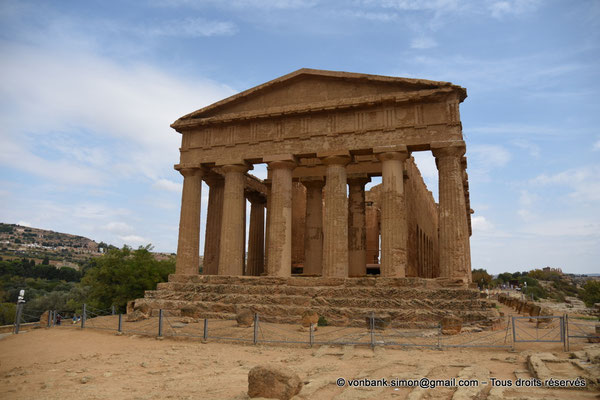 [NU906-2019-1563] Agrigente - Temple de la Concorde : Face Ouest