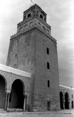 [NB015-1981-09] Kairouan : Mosquée Oqba Ibn Nafi - Minaret