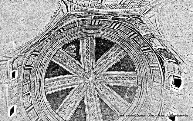[NB088-1978-18] Temacine-Tamelhat - Coupole de la salle de prière de la zaouïa de Tamelhat