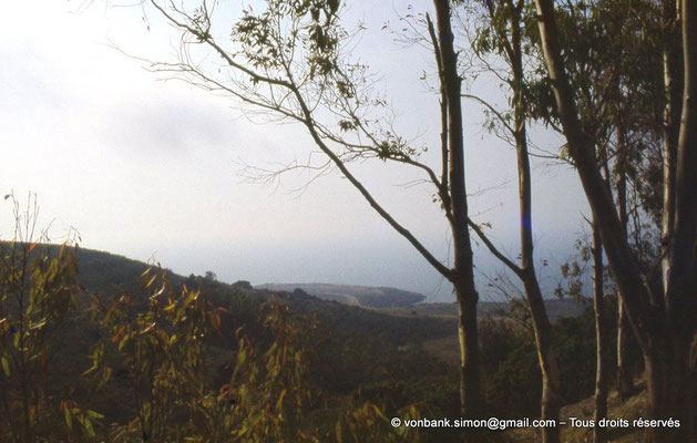 [073-1978-09] Sidi Rached : Depuis Tipasa, sur la route menant au Mausolée royal de Maurétanie