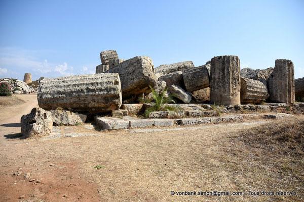 [NU906-2019-1435] Sélinonte - Temple F : Ruines