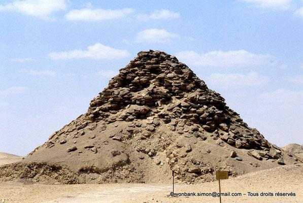 [067-1981-06] Saqqara - Ouserkaf : Pyramide du Roi