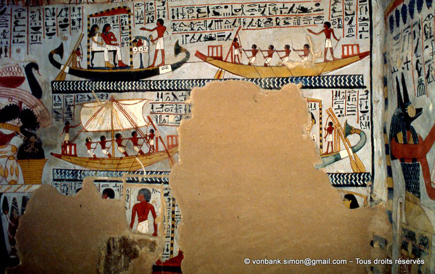 [065-1981-32] TT 96B - Sennefer : Voyage à Abydos (chambre funéraire)