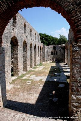 [NU902-2010-132] Butrint (Buthrotum) : Basilique chrétienne reconstruite à l'époque vénitienne