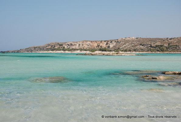 [NU900x-2013-0094] GR - Crète - Elafonissi : Eaux cristallines de la lagune