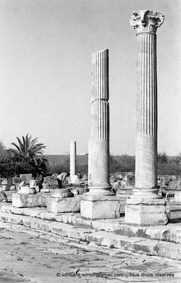 [NB028-1978-11] Annaba (Hippo Regius) : Forum - Détail du portique Est