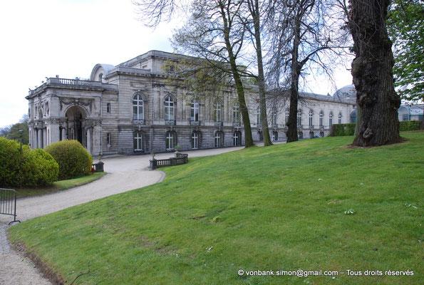 [NU900c-2012-0083] B - Bruxelles - Laeken : Serres royales - Aile gauche du Palais