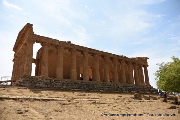 [NU906-2019-1560] Agrigente - Temple de la Concorde : Faces Est et Nord