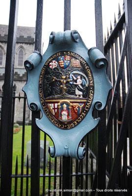 [NU002p-2016-0149] Dublin - Cathédrale Saint-Patrick : 'Sigillum commune capituli ecclesie cathedralis Sancti Patricii Dublinie' - Sceau du chapitre de l'église cathédrale de St Patrick Dublin