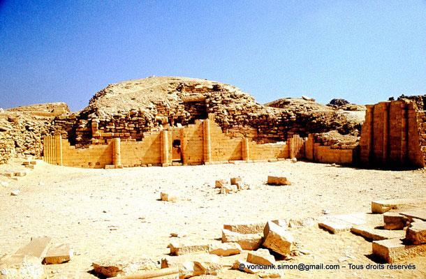 [083-1973-08] Saqqara - Djoser : Maison du Nord