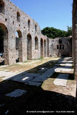 [NU902-2010-133] Butrint (Buthrotum) : Basilique chrétienne reconstruite à l'époque vénitienne
