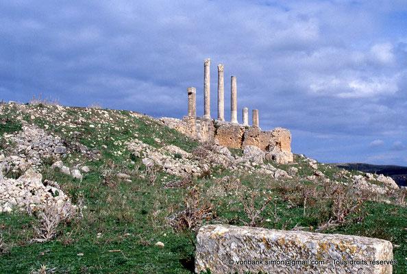 [034-1983-31] Dougga (Thugga) : Temple de Saturne construit sous Septime Sévère