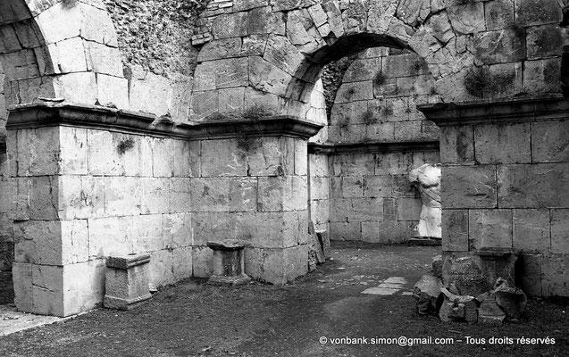 [NB059-1978-29] Djemila (Cuicul) : Sous-sols du Capitole