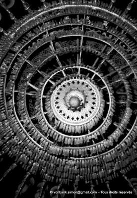 [NB072-1973-20] Le Caire - Mosquée Mohamed Ali Pacha : Lustre de la partie orientale
