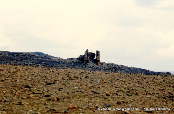 [002-1983-14] Ksar Tifech (Tipasa de Numidie) : Une des dix tours du rempart de la citadelle