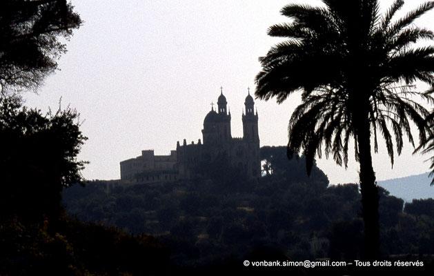 [072-1978-02] Annaba (Hippo Regius) : Basilique Saint-Augustin vue depuis le quartier des villae du front de mer