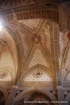 [NU908-2015-0861] Milan - Santa Maria delle Grazie : Voûtes d'arêtes de la nef principale (vue partielle)