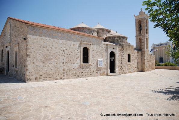 [NU900-2012-0040] Yeroskipou - Agia Paraskevi : Façade Sud (vue prise depuis l'angle Sud-Ouest)