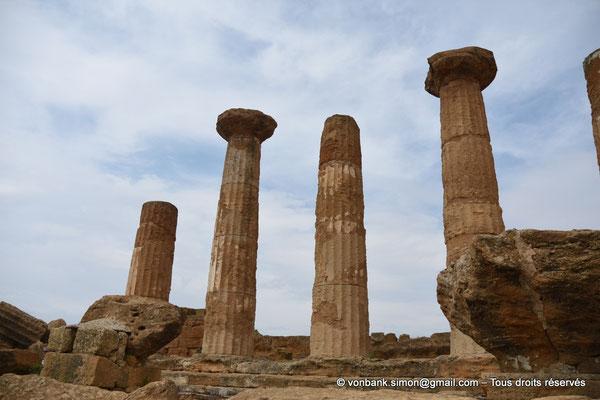 [NU906-2019-1578] Agrigente - Temple d'Héraclès (Hercule) : Face Sud