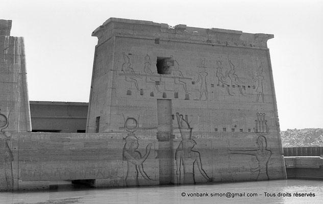[NB076-1973-39] Philae : Temple d'Isis - Pylône 2