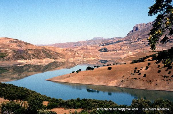 [071-1978-33] Gorges de Kherrata - Lac du barrage d'Ighil Emda