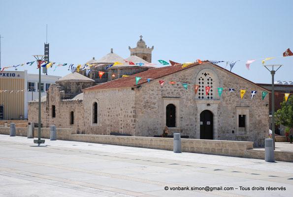 [NU900-2012-0042] Yeroskipou - Agia Paraskevi : Façade Ouest (vue prise depuis l'angle Nord-Ouest)