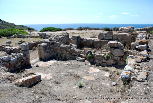 [NU904-2015-208] Tharros (Sardaigne) : Ruines (colline Su Muru Mannu)