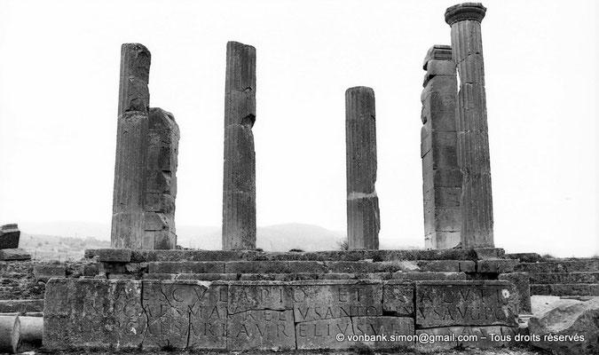 [NB010-1981-02] Lambèse (Lambaesis) : Asclépieium - Temple d'Esculape