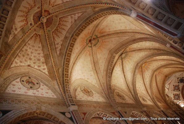 [NU908-2015-0862] Milan - Santa Maria delle Grazie : Voûtes d'arêtes de la nef principale